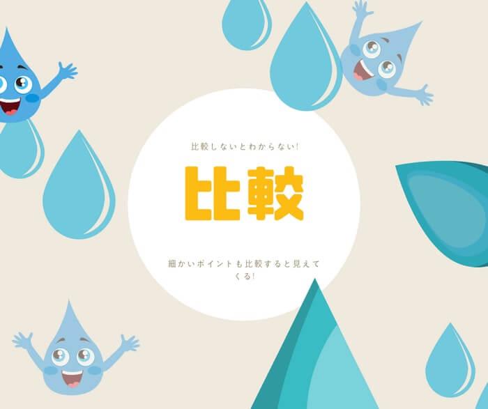 一人暮らしに最適なウォーターサーバーの中から最適な3種類の宅配水に絞って徹底的に比較した結果をご紹介します!