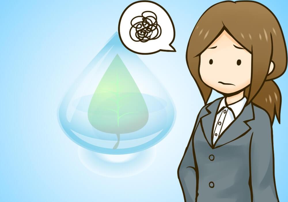 ウォーターサーバー水が減らない・・・