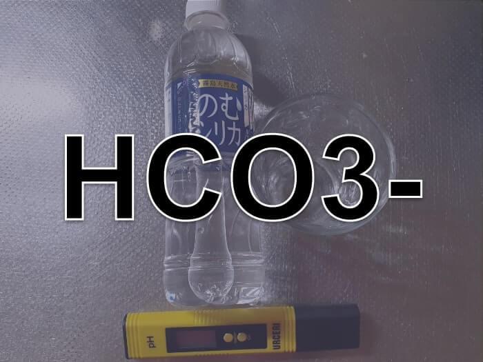 炭酸水素イオンの化学式