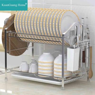 たくさん料理をする予定でしたら、このような容量が大きいタイプの水切りが便利です!