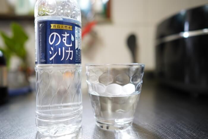 飲むシリカは常温状態のお水でもゴクゴクおいしく飲めました!