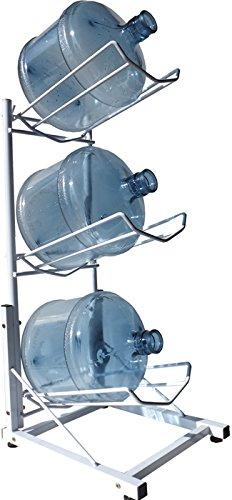 一番シンプルなガロンボトルを収納するラックはこちらになります。