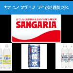 人気の強炭酸水・サンガリアを買うまえに確認してほしい内容を簡単にご紹介しています。