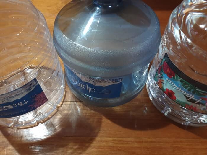 トーエルが提供中の3種類のお水