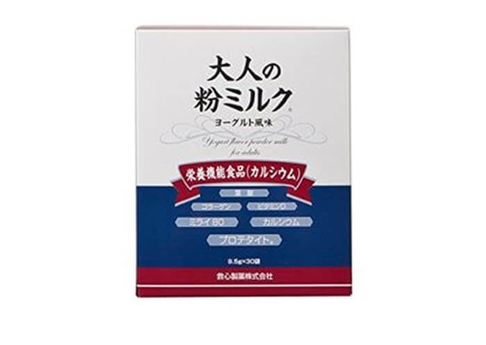 救心製薬から販売中の大人の粉ミルクも特に評判の高い大人用粉ミルクの一つです。