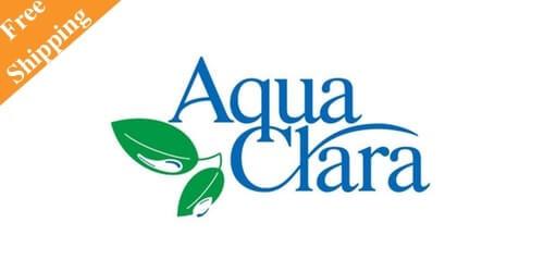 全国送料無料で配達してくれるウォーターサーバーのアクアクララ・ロゴ