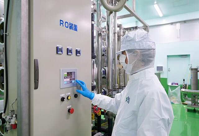 アクアクララ社のRO装置の画像