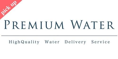 人気ウォーターサーバーのプレミアムウォーター・ロゴ