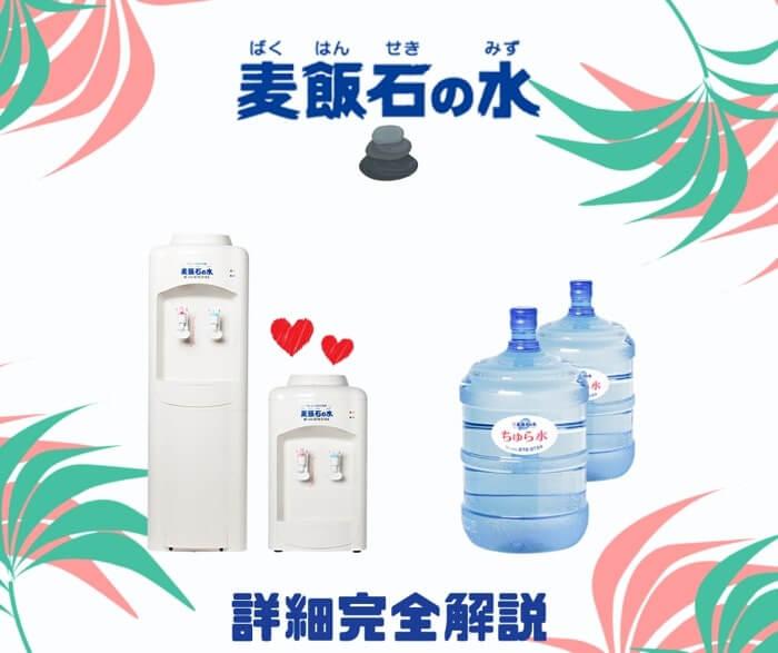 麦飯石のお水が飲める沖縄県限定の水宅配サーバーの詳しい詳細内容を解説しています。