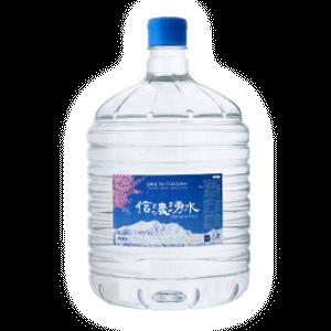 信濃湧水から販売中のお水ボトル