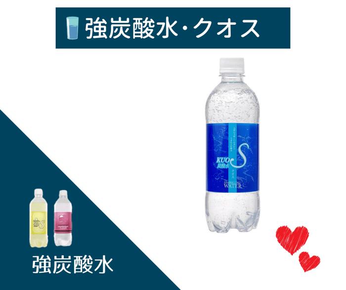 強炭酸水・クオス