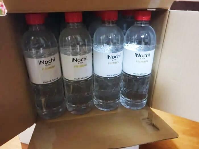高濃度シリカ水・イノチの水購入