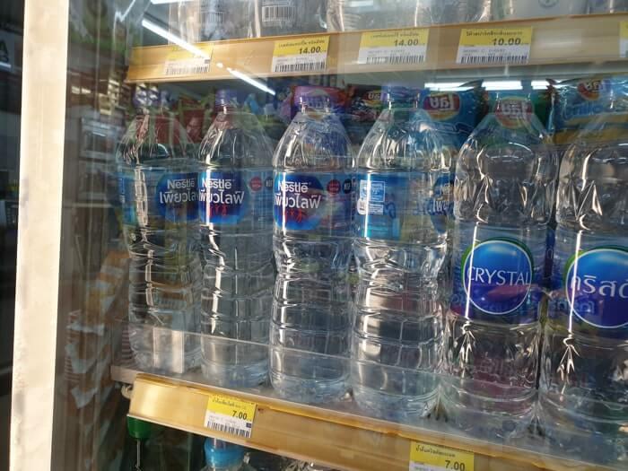 タイの水道水は飲めない