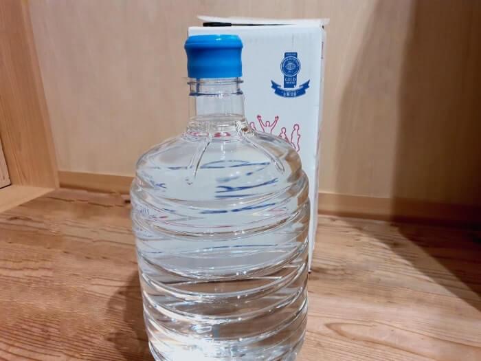 リセットタイムの天然水