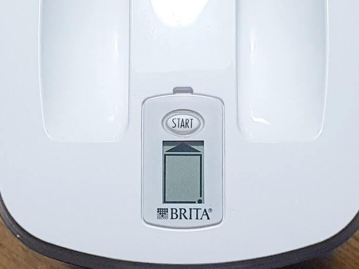 ブリタ浄水器の専用カートリッジ交換目安アイコン