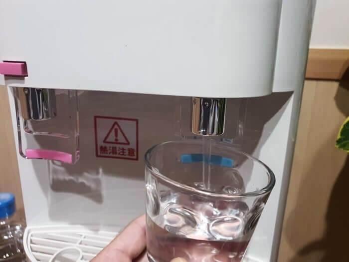 スノーアルプスの冷水出水