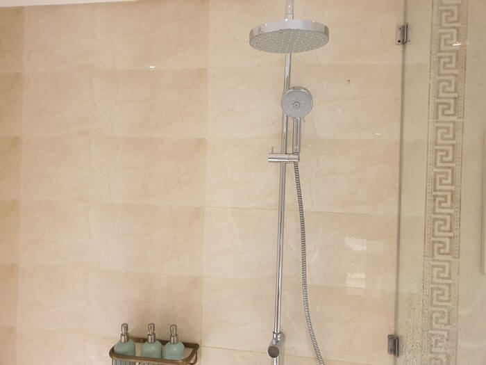 ベトナムではシャワーのお湯も硬水